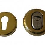 Защитная броненакладка CISA. Арт. 1.06460.51.0 (золото)