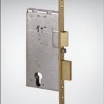 Врезной цилиндровый электромеханический замок для деревянных дверей